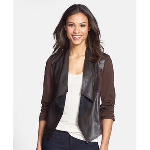 Kut From The Cloth Lincoln Faux Leather Jacket.
